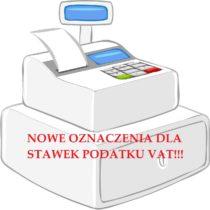 Zmiana stawek VAT w kasach i drukarkach fiskalnych